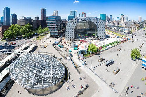 Markthal in aanbouw van Prachtig Rotterdam