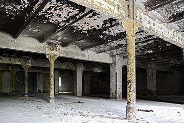 Innenraum der ehemaligen Diamant Brauerei in Magdeburg von Heiko Kueverling
