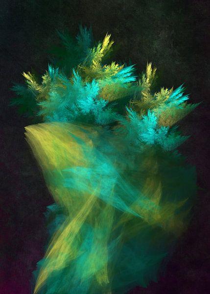 Fraktale abstrakte Kunst Wald 4 #Fraktale #Abstrakt von JBJart Justyna Jaszke