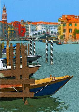 Italien Venedig von Schildersatelier van der Ven