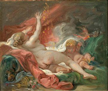 François Boucher. Danaë and the Shower of Gold sur