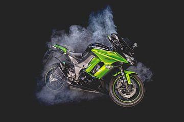Kawasaki z1000SX motor van Sebastiaan van Stam Fotografie