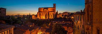 Basilica Cateriniana San Domenico - Siena von Teun Ruijters