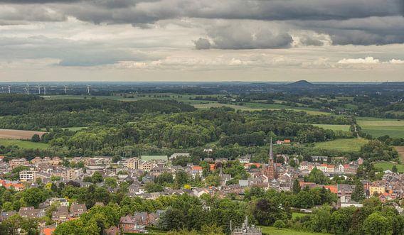 Panorama van Vaals vanaf de Wilhelminatoren