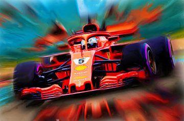 Sebastian Vettel feat. Loria van Jean-Louis Glineur alias DeVerviers