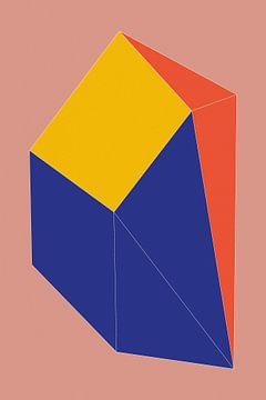 Minimalistische Geometrie nr. 12 van Pascal Deckarm
