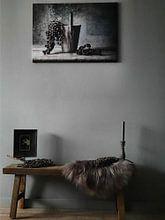 Klantfoto: Stilleven 30 van jejaka art, op canvas