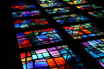 Glas in lood van Marije Zwart