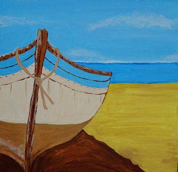 Deserted Beach von Anja  Bulté