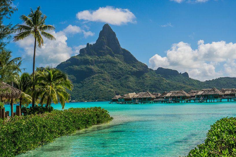 Resort Bora Bora van Ralf van de Veerdonk