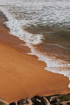 Het strand van Quarteira, Algarve Portugal