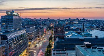Night at Stockholm 2 van Henry van Schijndel