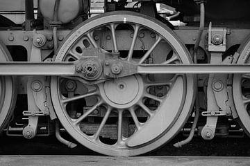 Locomotief wiel van