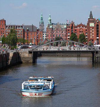 Sogenanntes Hafenrathaus, Speicherstadt, Hafencity, Hamburg, Deutschland, Europa