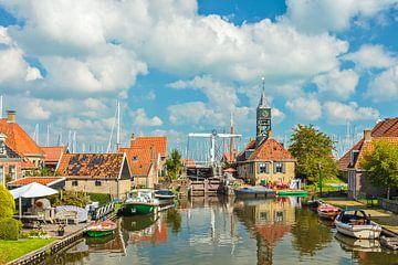 Het oude dorpje Hindeloopen van Martin Bergsma