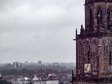 Stadsgezicht Groningen van Martijn Wit