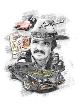 Burt Reynolds von Theodor Decker