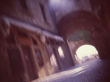 Rhodos stadspoort van Karel Ham