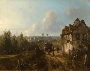 Blick auf Monmartre, Johan Barthold Jongkind