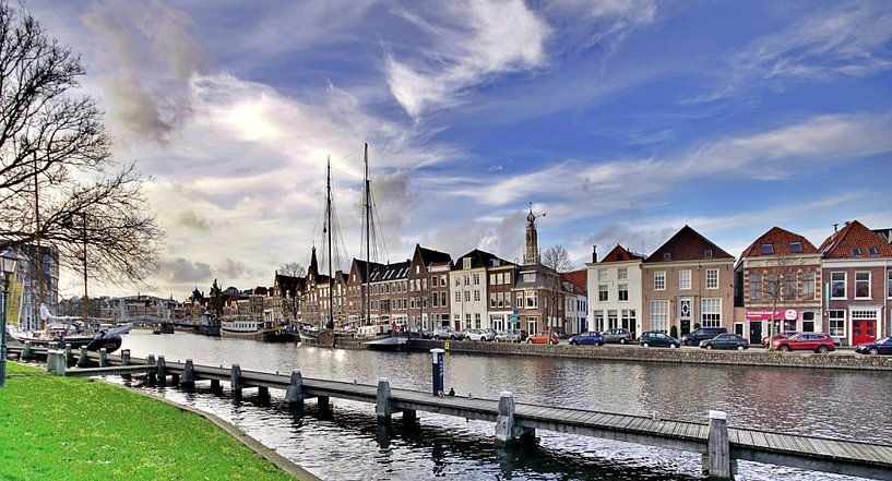 Het Spaarne, Haarlem (2020) van Eric Oudendijk
