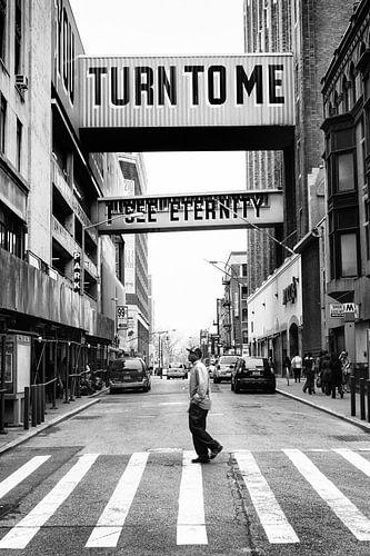 Wenden Sie sich an mich, den ich die Ewigkeit sehen (Turn to me I see eternity) von Steve Van Hoyweghen
