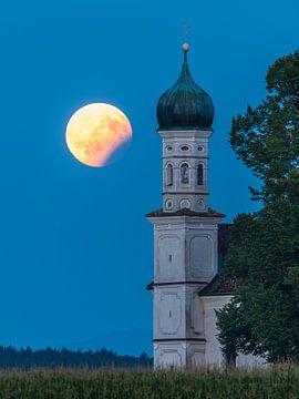 Partielle Mondfinsternis von Denis Feiner