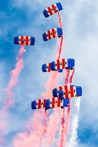 RAF Falcons van