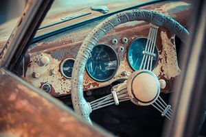 Porsche Stuur van Andre Kwakernaat