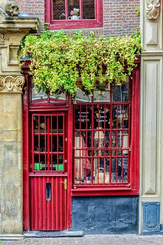 Kleinste huis van Amsterdam.