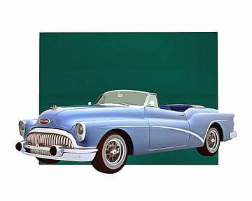 Klassieke auto – Oldtimer Buick Skylark Convertible
