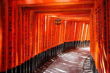 Fushimi Inari Shrine van Jørgen Geers