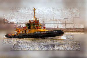 Patrouillevaartuig van Carla van Zomeren