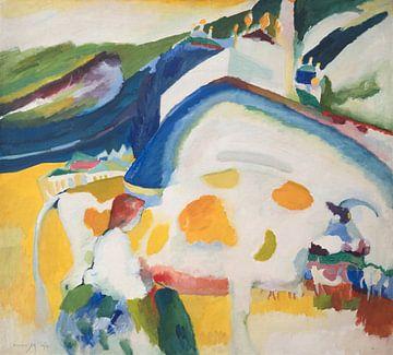 La vache, Wassily Kandinsky sur
