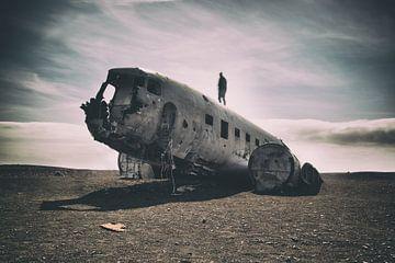 Vliegtuig crash sur Jip van Bodegom