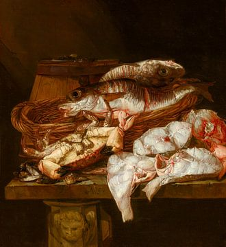 Stilleben mit Meeresbankett, Abraham van Beyeren