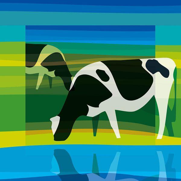 Koeien (Stilistisch) van Color Square