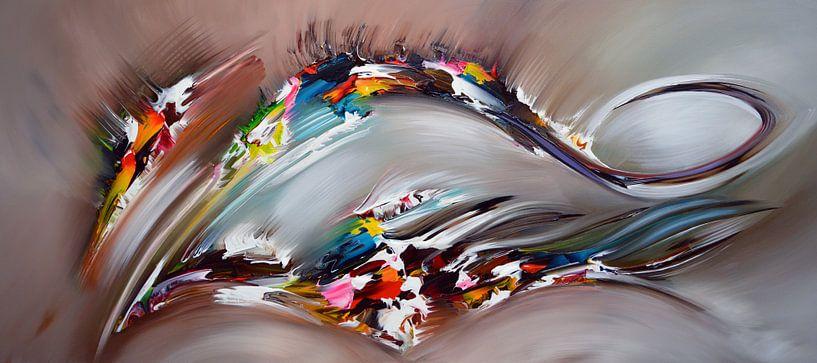 Abstract Power van Gena Theheartofart