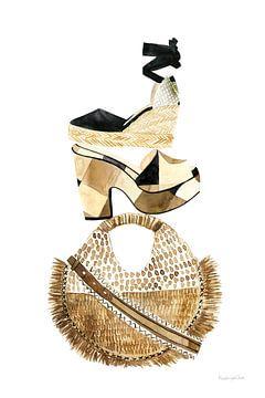 Beach Glam II, Mercedes Lopez Charro van Wild Apple