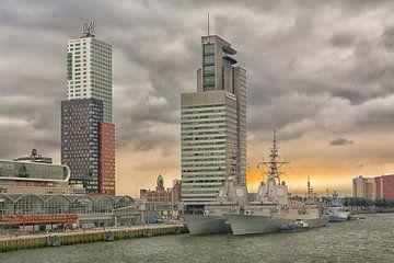 Oorlogsbodems in Rotterdam van Dick Kattestaart