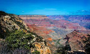 Grand Canyon vanaf de South Rim