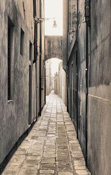 Une rue sans fin sur Dick Carlier