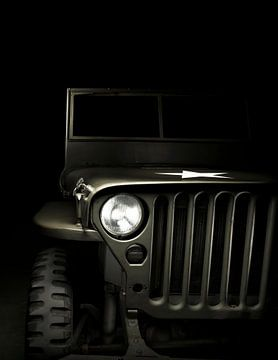 Jeep Willys US Army 1943 van Thomas Boudewijn