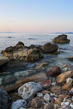 zee in lange belichtingstijd