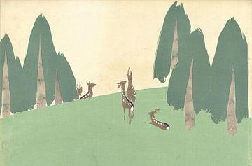 Kasugano von Kamisaka Sekka, 1909