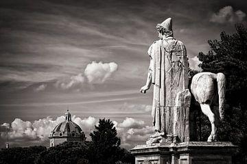 Zwart-wit fotografie: Rome - Capitool van Alexander Voss