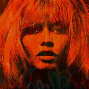 Love Brigitte Bardot Pop Art PUR