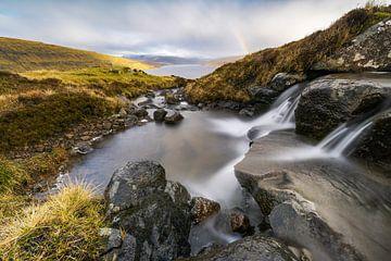 Färöer Inseln Regenbogen von Stefan Schäfer
