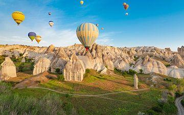 luchtballonvlucht van Enrique Ekoga