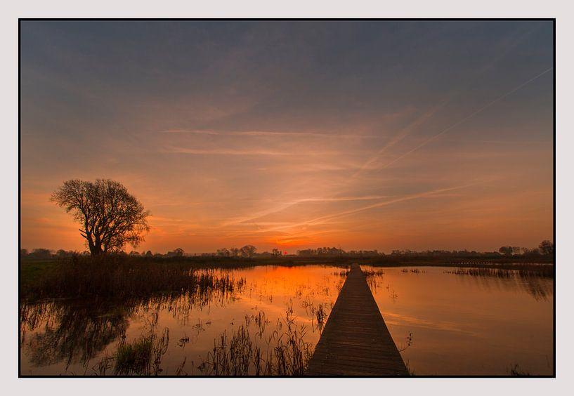 zonsopgang van Pieter limbeek