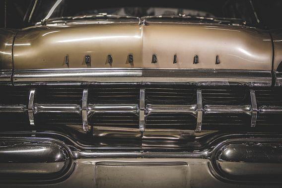 Oude auto uit de tijd van Elvis Presley